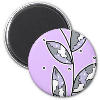 Twig 6 Cm Round Magnet