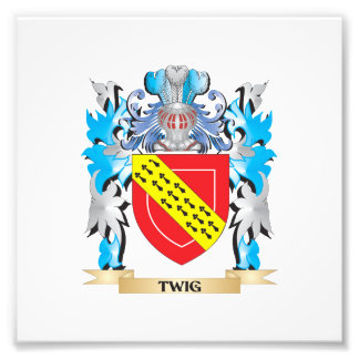 Twig Coat of Arms - Family Crest Photo Art