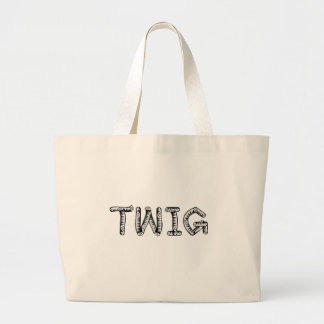 twig large tote bag