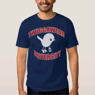 Twigga University R/W/B Dark T-Shirt