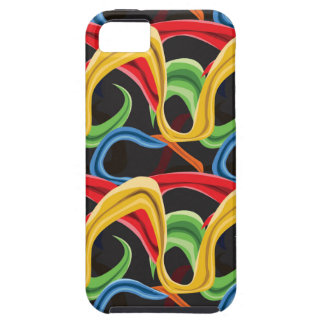 Twiggly Stripes Case For The iPhone 5
