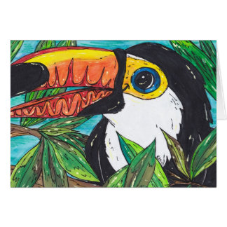 Twiggy the Toucan Card