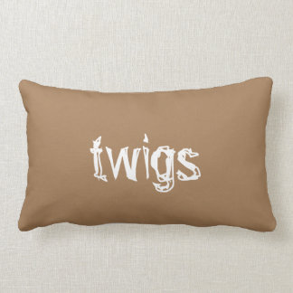 Twigs Double-sided Pillow For Home Decorating Chic Throw Cushion