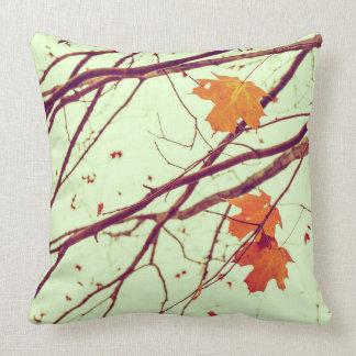 Twigs in Autumn Throw Cushion