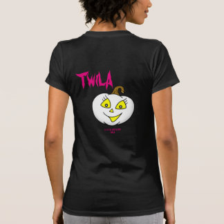 Twila the pumpkin girl HAPPY HALLOWEEN T-Shirt