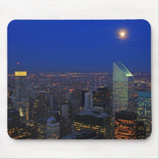 Twilght: Moonrise over the East River, NYC Mouse Pad