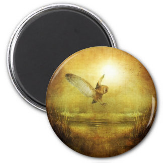 Twilight 6 Cm Round Magnet