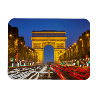 Twilight Along Champs Elysee Magnet