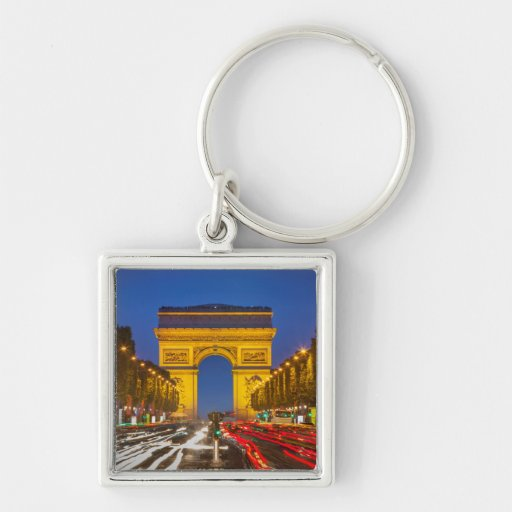 Twilight Along Champs Elysee Keychains