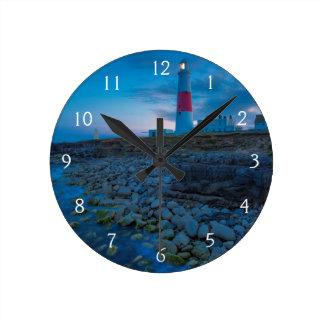 Twilight at the Portland Bill Lighthouse Clock