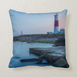 Twilight at the Portland Bill Lighthouse Cushion