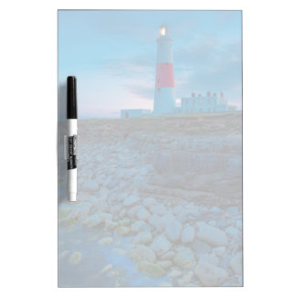 Twilight at the Portland Bill Lighthouse Dry-Erase Whiteboard
