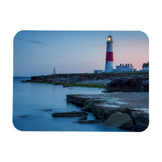 Twilight at the Portland Bill Lighthouse Magnet