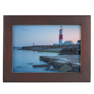 Twilight at the Portland Bill Lighthouse Memory Boxes