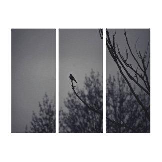 Twilight Bird Canvas Prints
