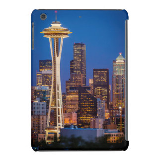 Twilight Blankets The Space Needle And Downtown 2 iPad Mini Cover