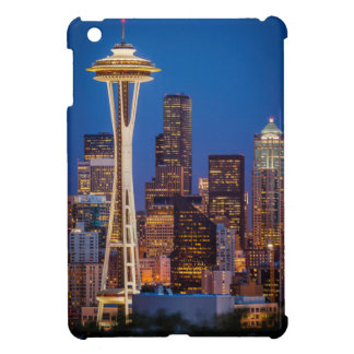 Twilight Blankets The Space Needle And Downtown 2 iPad Mini Covers