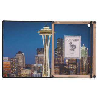 Twilight Blankets The Space Needle And Downtown Covers For iPad