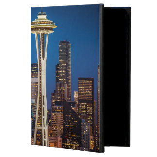 Twilight Blankets The Space Needle And Downtown Cover For iPad Air