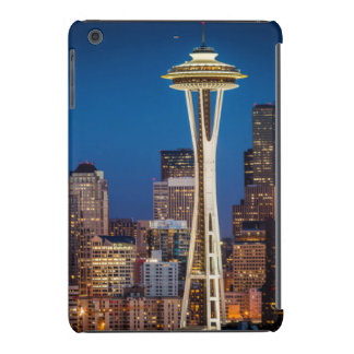Twilight Blankets The Space Needle And Downtown iPad Mini Covers