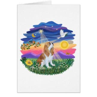 Twilight - Blenheim Cavalier F Greeting Card