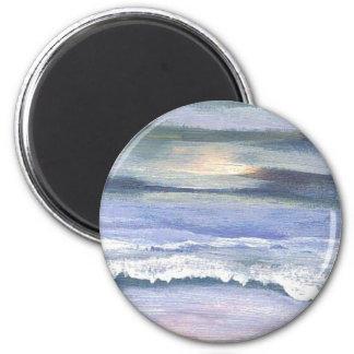 Twilight - CricketDiane Ocean Art 6 Cm Round Magnet