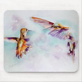 Twilight Dancers Hummingbird Print Mouse Mat