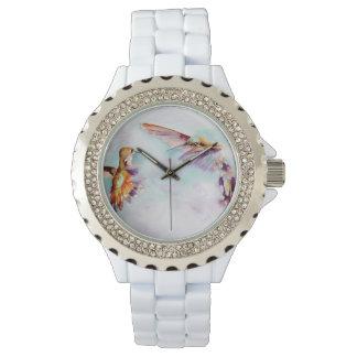 Twilight Dancers Hummingbird Print Watch