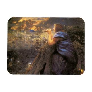 Twilight Faeries Dancing Vinyl Magnet