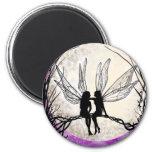 Twilight Fairy Art Magnets Fairy Silhouette