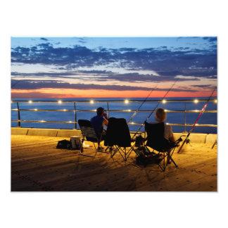 Twilight Fishing Photograph