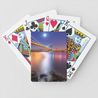 Twilight, George Washington BridgePalisades, NJ. Bicycle Playing Cards