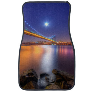 Twilight, George Washington BridgePalisades, NJ. Car Mat