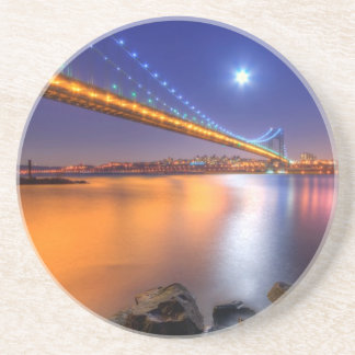Twilight, George Washington BridgePalisades, NJ. Coaster
