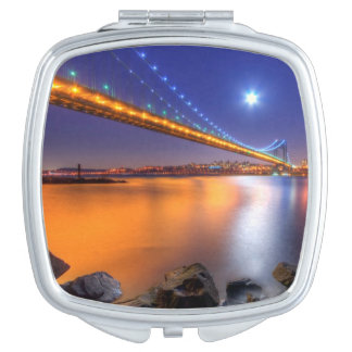 Twilight, George Washington BridgePalisades, NJ. Makeup Mirror