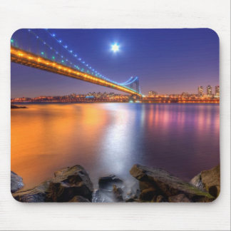 Twilight, George Washington BridgePalisades, NJ. Mouse Pad