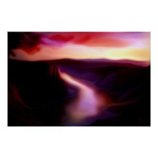 Twilight Gorge Print