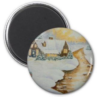 Twilight Holiday 6 Cm Round Magnet