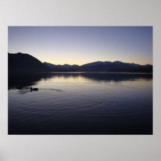 Twilight Lake Poster