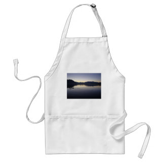 Twilight Lake Standard Apron