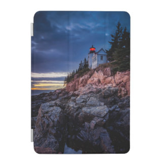Twilight Over Bass Harbor Lighthouse, Acadia iPad Mini Cover