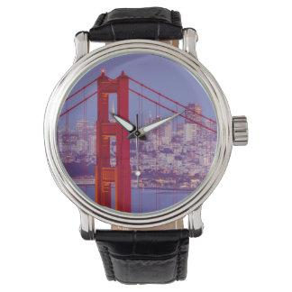 Twilight Over The Golden Gate Bridge Watch