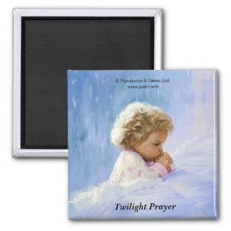 Twilight Prayer Square Magnet
