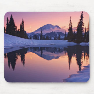 Twilight, Tarn and Crescent Moon Mouse Mat