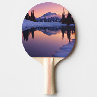 Twilight, Tarn and Crescent Moon Ping Pong Paddle