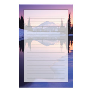 Twilight, Tarn and Crescent Moon Stationery