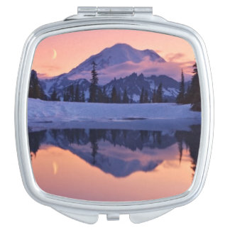 Twilight, Tarn and Crescent Moon Vanity Mirror