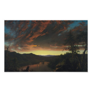 Twilight Wilderness Poster