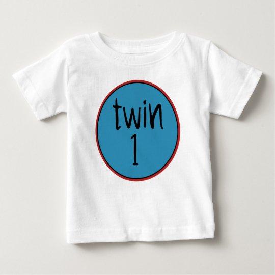 Twin 1 baby T-Shirt