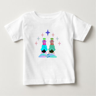 Twin Angels Baby Shirt